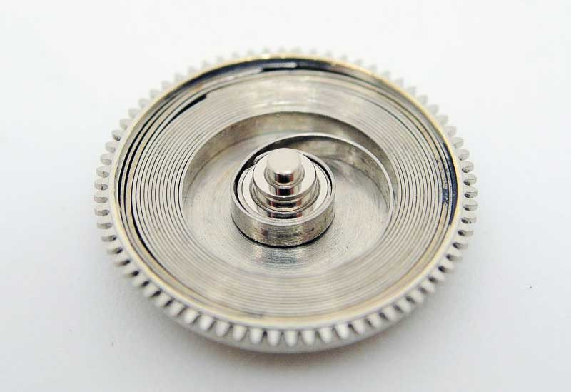 The mainspring and the barrel